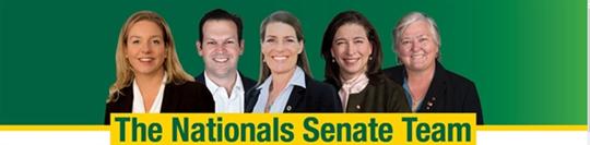 The Nationals Senate Team